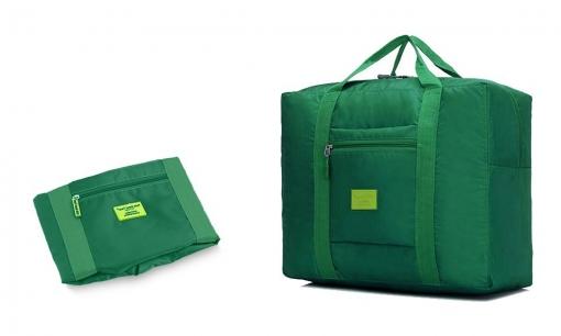 venta minorista 3ab1f f7d43 2791 Bolsa De Tela Plegable De Mano Resistente Al Agua Con El Apoyo Para  Maletas | Verde
