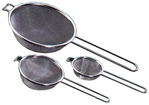 Colador 1/2 B.acero Inox Media - Metaltex - 116820 - 20 Cm