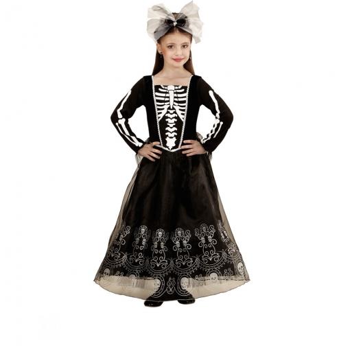 Disfraz Esqueleto Catrina Para Niña