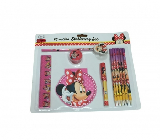 Set Escolar Stationary 20131089 Con Personajes Disney | Minnie-mouse