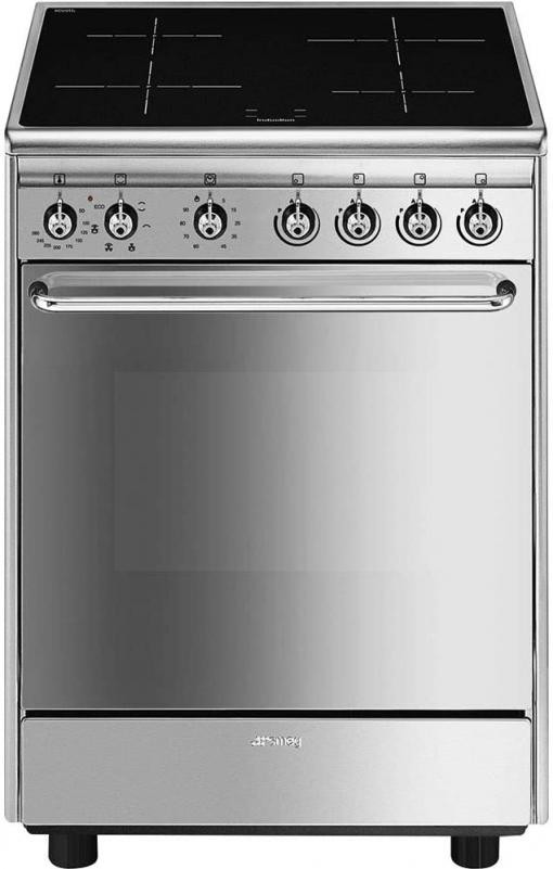 Cocina Smeg Cx60isv9 Inox 60cm Horno Eléctrico Inducción