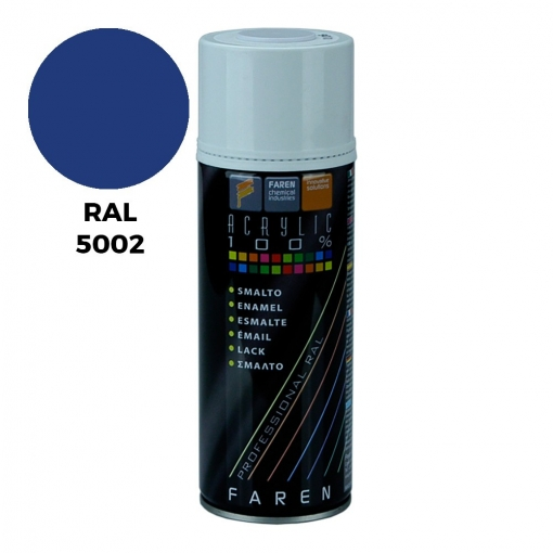 Spray Ral 5002 Azul Ultramar 400ml