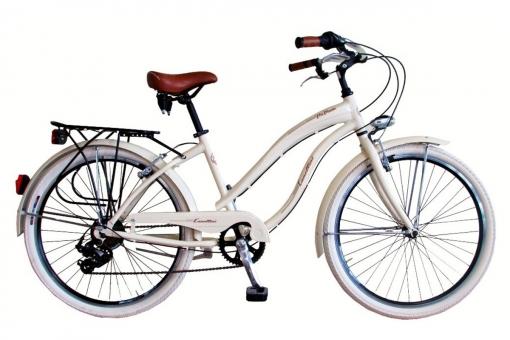Bicicleta Via Veneto By Canellini Cruiser Alluminium Mujer Nata