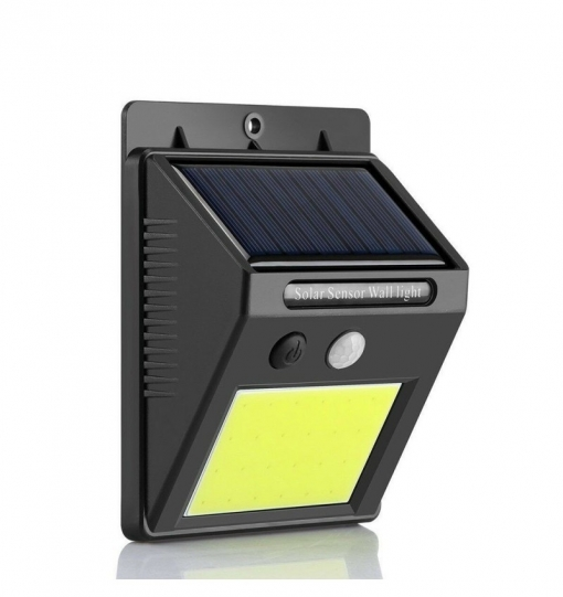 Lampara Solar Con Sensor De Movimiento Y Luz Interior Y Exterior 24 Led Cob Con Ofertas En Carrefour Las Mejores Ofertas De Carrefour