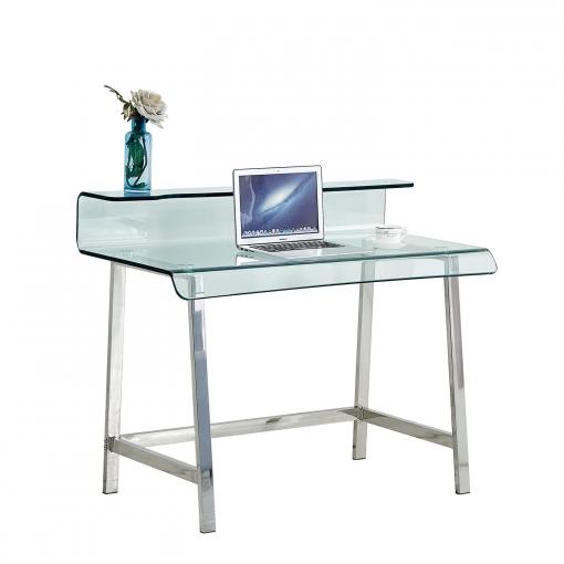 Mesa de escritorio temper las mejores ofertas de carrefour for Mesa escritorio carrefour