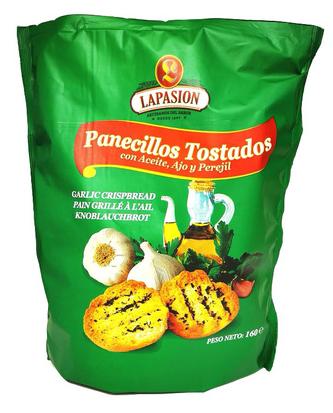 Panecillos Tostados Con Aceite, Ajo Y Perejil 160g Por 12 Paquetes