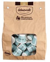 50 Cápsulas Compostables De Café Ecológico Suave Debuencafé