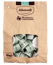 50 Cápsulas Compostables De Café Ecológico Descafeinado Debuencafé