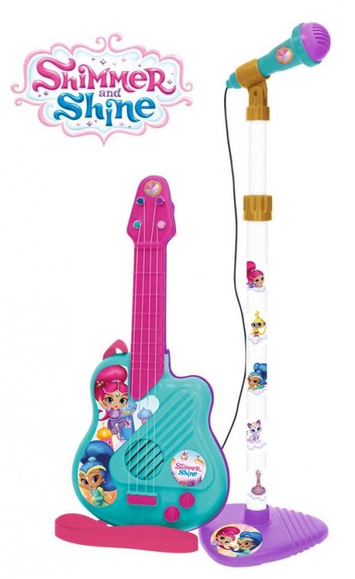 Shimmer&shine Guitarra+micro Caj34x18x72