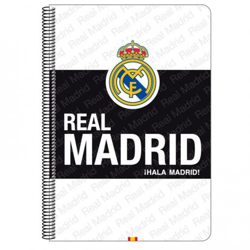 Bloc Real Madrid White A4 Microperforado 80h  c1a8b6b766324