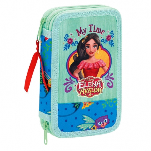 Plumier Elena De Avalor Disney Doble 28pz