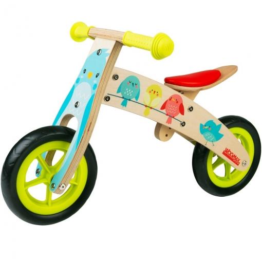 Bici Sin Pedales Madera Niños 2-5 Años