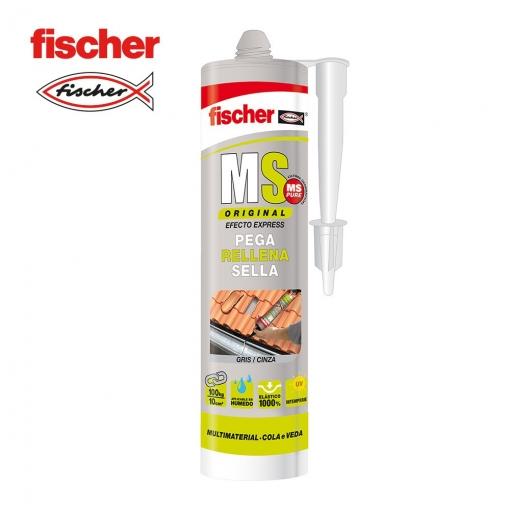 Sellador Adhesivo Ms Gris - Fischer - 97973