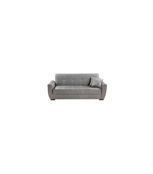 Sofa Cama Clic Clac Burdeos , Tapizado - Gris