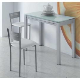Pack Mesa Cocina Extensible +4 Taburetes , Color - Blanco, Color ...