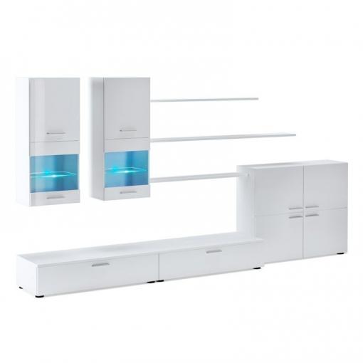 Mueble De Salón Beta - Color - Blanco | Las mejores ofertas de Carrefour