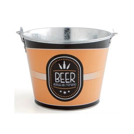 Cubo Inox Botellin Cerveza 6 L - Quid - 4960484