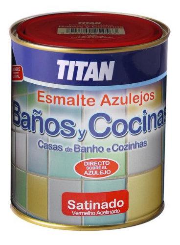 Esmalte Azulejos Baño Cocina Azul 750 Ml