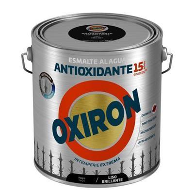 Oxiron Al Agua Forja Negro Brillo Liso 2.5l.