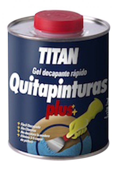Quitapinturas Prep. Mad 375 Ml Decap.rap Gel Titan-plus Tita