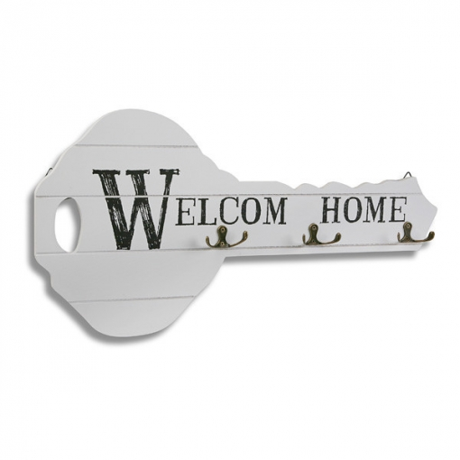Portallaves Welcome Home 51x26 Cm - Versa - 21310021