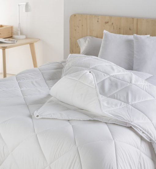 Relleno Nórdico 4 Estaciones Color Blanco Cama De 180 Cm | Las