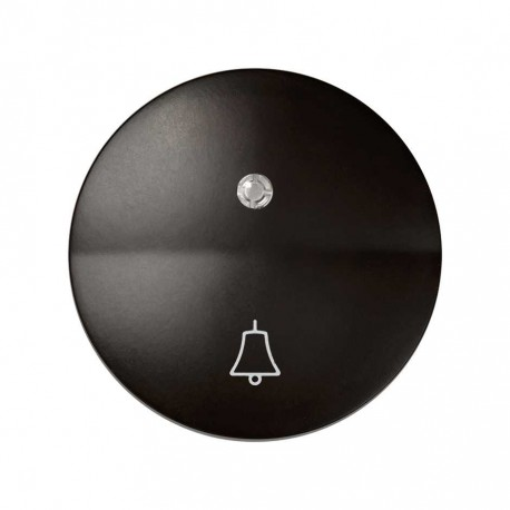 Simon 88 | Tecla Con Campana Para Luminoso Marrón Simon 88015-32