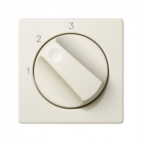 Tapa+boton Conmut. Rotativo 3 Posiciones Marfil Simon 82084-31