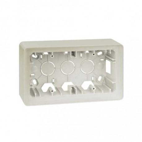 Caja Superficie 2 Elementos Marfil Simon 82 Detail 8200760-031