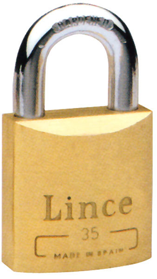 Candado Laton Eurotop - Lince - 500-65 - 65 Mm