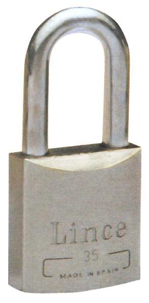 Candado Intemperie Inox A Larg - Lince - 551-45 - 45 Mm
