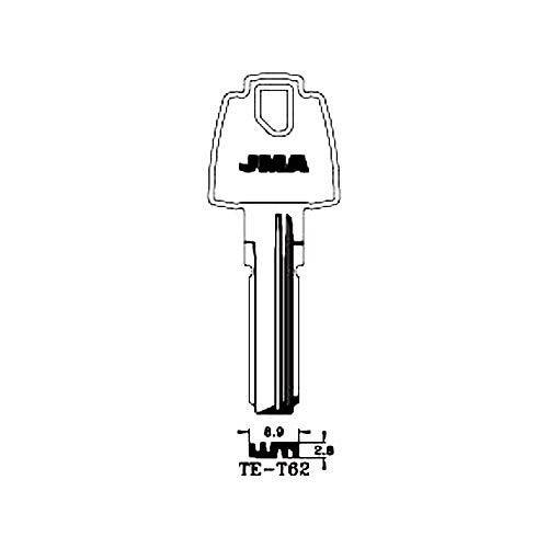 Llavin Laton Seguridad Te-t62 10 Unidades