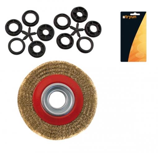 Cepillo Industrial Circular - Neoferr - Ty1822 - 150x20 Mm
