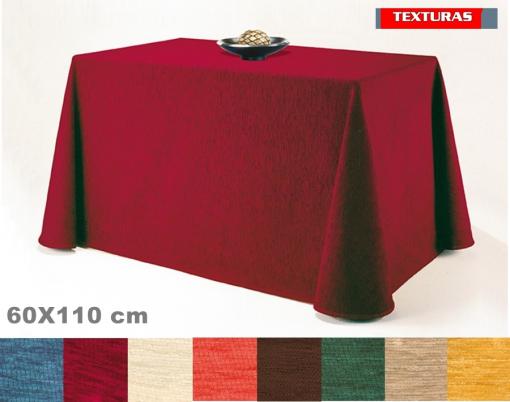 a43bcbf28 Falda Mesa Camilla Belmarti 110x60 Rectangular Chenilla 4 Estaciones -  Color: Marrón