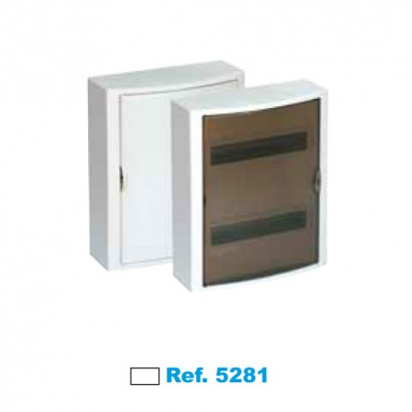 Cuadro Eléctrico De Superficie 28 Elementos Blanco Solera Arelos 5281