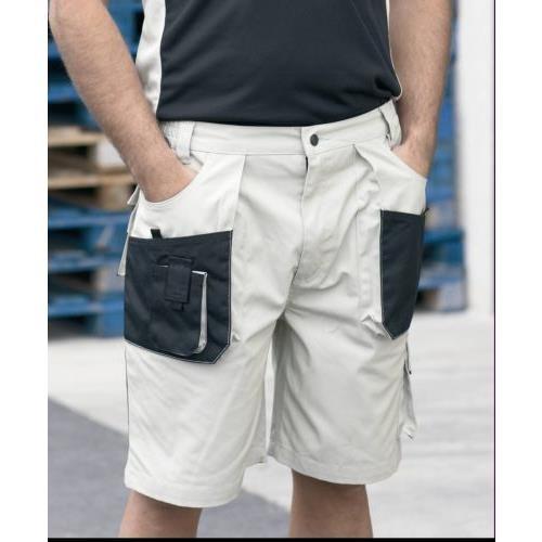Pantalon Conjunto Multibolsillo Beige Negro . 972 2xl