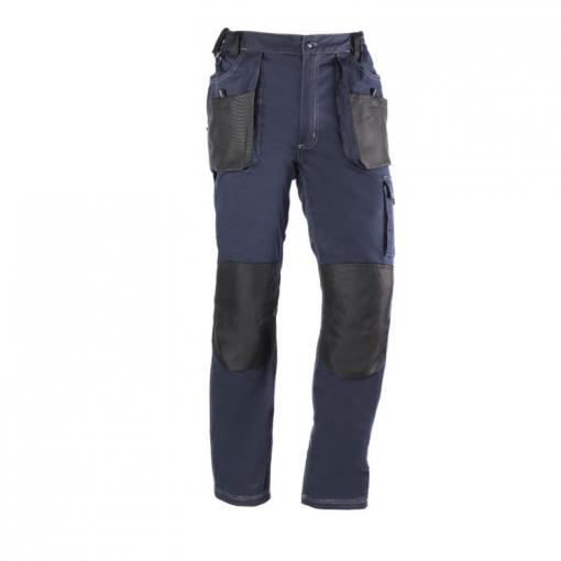 Pantalon Multibolsillo Flex Marino Negro L