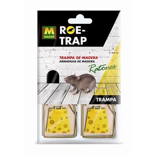 Trampa De Madera Ratones Roe-trap (2uds) 231570