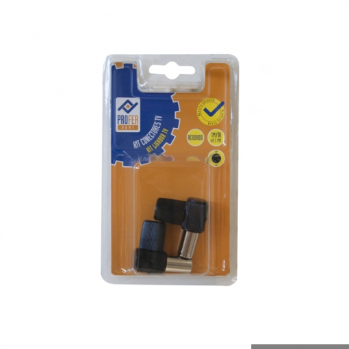 Conector Tv Kit 1m 1h Acod Neg - Neoferr - Ph0364/311119pf