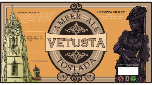 Cerveza Nurse Vetusta 33cl