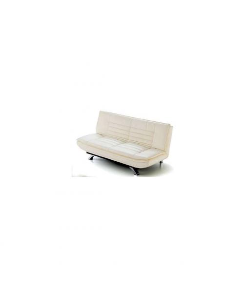 Sofa cama soho polipiel 3 colores tapizado blanco las mejores ofertas de carrefour - Cabecero polipiel carrefour ...