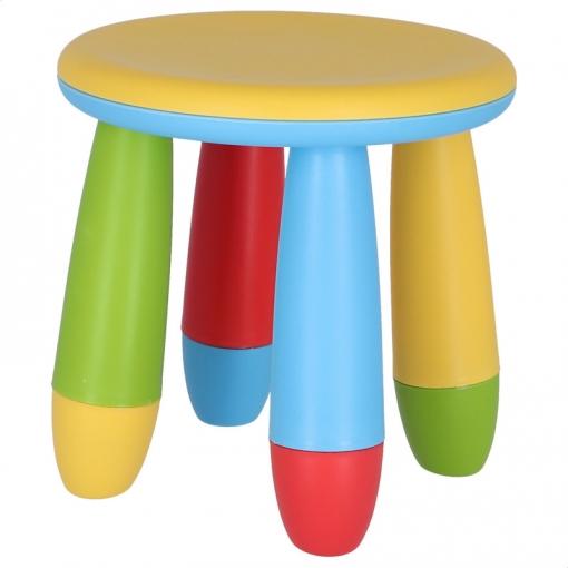 Taburete Infantil Amarillo