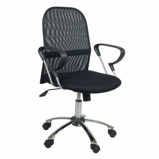 Silla de oficina flash color negro las mejores for Ofertas de sillas de oficina en carrefour