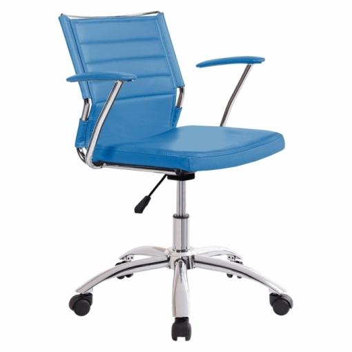 Silla De Oficina Life - Color - Azul Life | Las mejores ofertas de ...