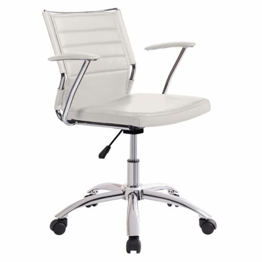 Silla de oficina life color blanco las mejores for Ofertas de sillas de oficina en carrefour