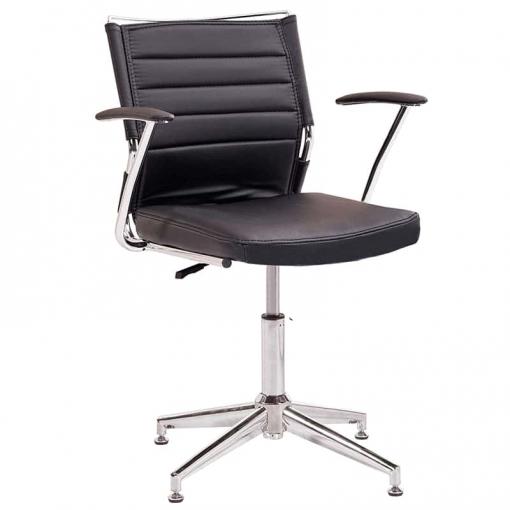 Silla De Oficina Life Fija - Color - Negro | Las mejores ofertas de ...
