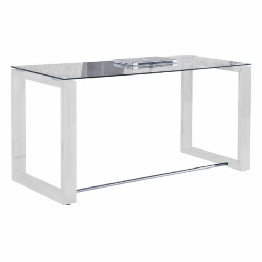 Mesa de escritorio office color blanco las mejores for Mesa escritorio carrefour