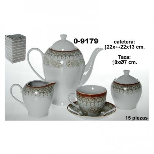 Set Porcelana Marron