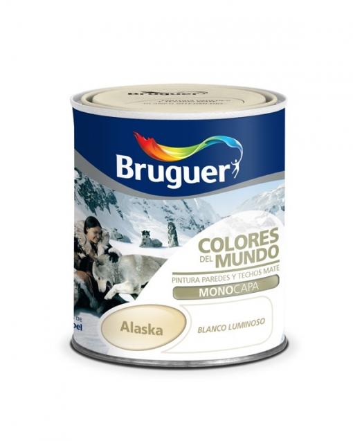 Pintura Plastica Alaska Blanco Extra 750 Ml - C.mundo - 5246750