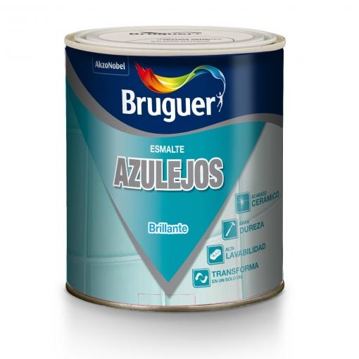 Esmalte Azulejo Brillo Naranja Aurora 750 Ml - Bruguer - 5160701
